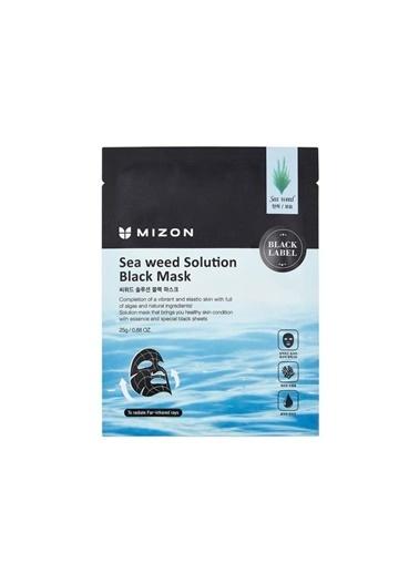 Mizon Mizon Sea Weed Solution Black Mask Deniz Yosunu Özlü Sıkılaştırıcı Maske Renksiz